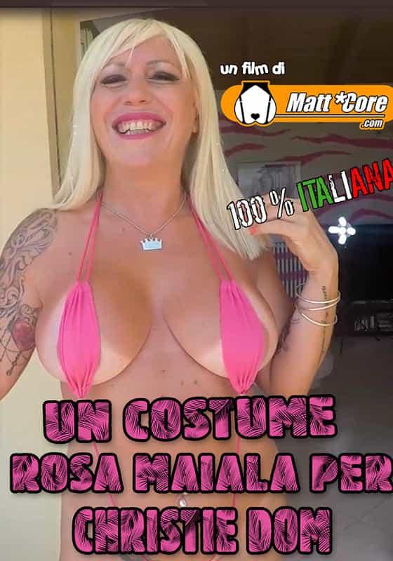Un costume rosa maiala per Christie Dom CentoXCento Streaming
